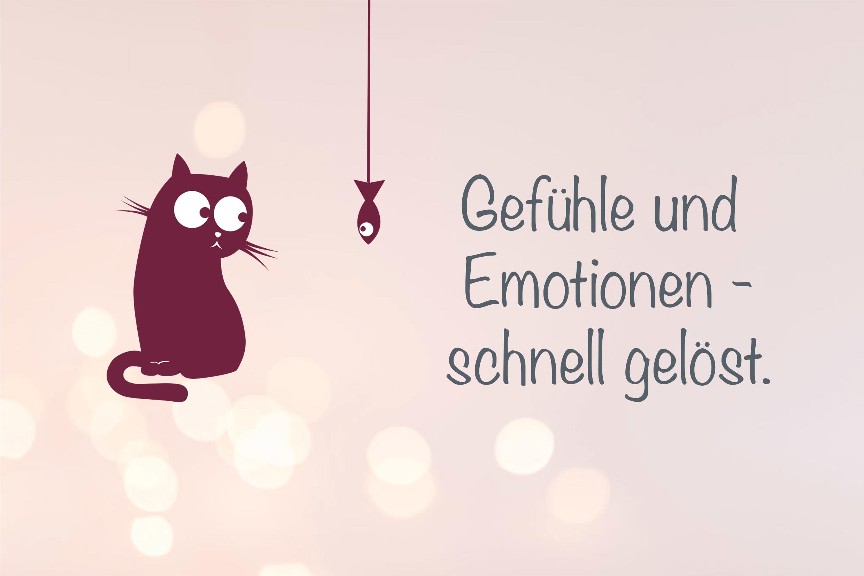 Gefühle und Emotionen - schnell gelöst.